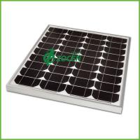 Buy cheap 12v 40 watt Monocrystalline Custom Solar Panels With Aluminium Frame from wholesalers