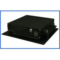 Buy cheap 4 channel H.264 economic vehicle DVR Support mouse operation infrared remote from wholesalers