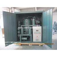 Buy cheap Renew used transformer oil Recycling System |dielectric oil regeneration | oil purification system from wholesalers