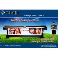 Quality A-Starjet Large Format Double Sided Printer 1.8M for Flex Banner for sale