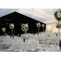 Buy cheap High Strength White Waterproof Wedding Event Tents Large A SHAPED Tent For 600 Seater from wholesalers