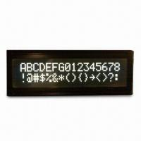 Buy cheap Standard LCM 16 x 2, FFSTN with White LED Backlight and COB Bonding from wholesalers