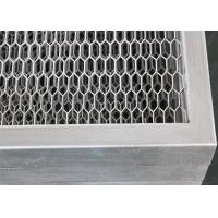 Buy cheap Metal Mesh Grid Plate Commercial Ceiling Tiles for Building Interior Decoration from wholesalers