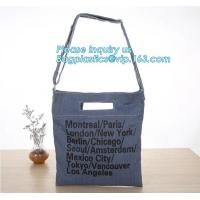 Buy cheap Fashion zipper shoulder bag heavy duty canvas tote bag shopping canvas bag with PP webbing strap bagease bagplastics pac from wholesalers