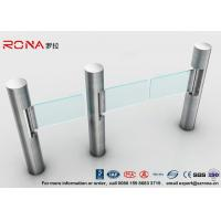 Buy cheap Intelligent Automatic Swing Barrier Gate With Aluminum Alloy Mechanism with from wholesalers