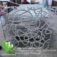 Buy cheap Powder Coated  5mm Laser Cut Aluminum Panels Wood Color 1200x2400mm Recommand Size from wholesalers