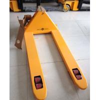 Buy cheap 2 Ton 2.5 Ton Hand Pallet Jack , Hydraulic Pallet Truck PU Wheel CE Certificated from wholesalers