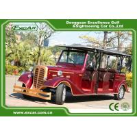 Buy cheap Classic Design Red Vintage Golf Car Tourist Car With CE Approved from wholesalers