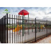 Buy cheap Welded Garrison Spear Top Fencing Anti - UV With 25mm Picket And 40mm Rail from wholesalers