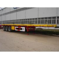 Buy cheap China single axle flat bed semi trailer sale from wholesalers
