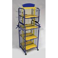Buy cheap Metal Toys Retail Display Rack , Flooring Metal Display Stands 4- Way Movable from wholesalers