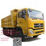 Buy cheap Dongfeng 375hp dump truck tipper truck dongfeng dump truck 0086-13635733504 from wholesalers