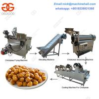 Buy cheap Chickpeas Processing Machine/Chickpeas Machine Line Equipment/Frying Green Peas Line from wholesalers