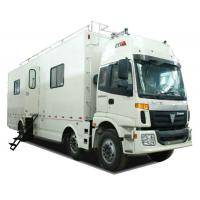 Buy cheap FOTON  6x2 Outdoor Mobile Camping Truck With Living Room and Kitchen from wholesalers