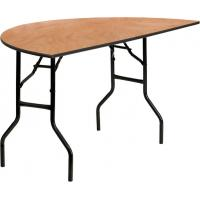 Buy cheap Waterproof Plywood Folding Tables For Banquet Halls , Wooden PVC Commercial Dining Tables from wholesalers