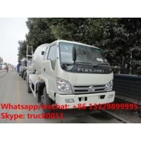 Buy cheap factory direct sale best price FORLAND 4*2 RHD cement mixer truck, hot sale forland RHD 4m3 concrete mixer drum truck from wholesalers