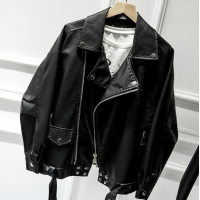 Buy cheap Leather Jacket 137CM PU Clothing Fabric from wholesalers
