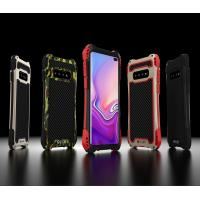 Buy cheap Samsung Galaxy S10 S10+ Plus Cell Phone Case Heavy Duty Full Protection Cover Metal Silicone Gel Rubber Outdoor Sports from wholesalers
