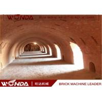 Buy cheap Hoffman Brick Tunnel Kiln , Red Clay Brick Making KilnWith Tunnel Dryer from wholesalers