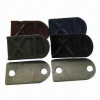 Buy cheap Metal Badges in Zinc Alloy Material, Measures 1.5 x 2.5cm, Available in Blue, Black and Gray product