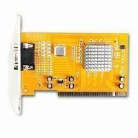 Buy cheap Video Capture Card, Multi-channel, Support Network Surfing and Mobil Control product