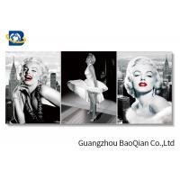 Buy cheap 3d Stereograph Printing / Pictures , Lenticular Famous Figure 3d Picture Of Beautiful Girl from wholesalers
