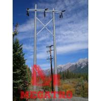Buy cheap MEGATRO 132KV twin pole structure;ELECTRIC 132 KV LINE PYLONS;ELECTRIC LINE STEEL PYLONS from wholesalers