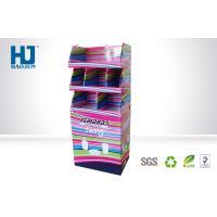 Vamishing 350g CCNB Cardboard Pallet Full Color Display , POP Corrugated Display For Tea