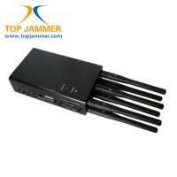Buy cheap Global Used 8 Bands Handheld Jammer Block GSM 3G 4G LTE Lojack Wifi GPS UHF VHF RF Signal from wholesalers