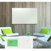 China 350W  carbon crystal wall mounted electric infrared room heating  panel-With Adjustable Thermostat on sale