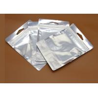 Buy cheap Shiny Moisture Proof Aluminum Foil Bags , Aircraft Hole Padded Shipping Bags from wholesalers