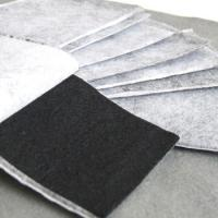 China Black activated carbon purification with air cleaner filter material fiber felt on sale
