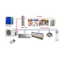 Buy cheap Super energy saving air source heat pump with Air condition(wire controler and remote) from wholesalers