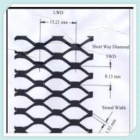 Buy cheap stainless steel expanded mesh/ decorative expanded metal/diamond mesh steel/expanded metal suppliers/flat expanded metal from wholesalers