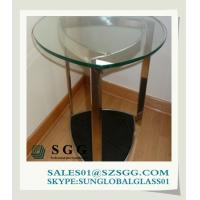 Buy cheap small glass desks (round,oval,square,rectangle) from wholesalers
