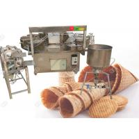 Buy cheap Automatic Waffle Cone Making Machine Pakistan Cone Ice Cream Baking Machine from wholesalers
