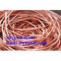 Buy cheap Copper scrap wire 99.99% Chinese supplier high purity 99.99%golden Copper scrap wire from wholesalers