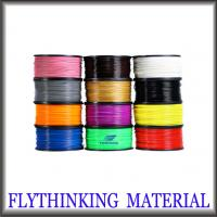 Buy cheap Low Shrinkage Red Transparent 3D Printer Filament PLA  , Builder 3D Printer Consumables from wholesalers