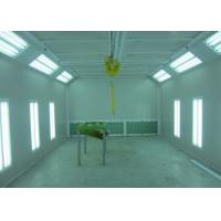 Buy cheap LED Lights Custom Woodworking Spray Booth Manual Damper Control Air Quantity from wholesalers
