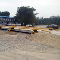 Buy cheap Serial port rs485 steel platform 50 ton truck scale weighbridge from wholesalers