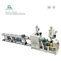 Buy cheap HSJ-65/33 HDPE Pipe Making Machine| Plastic Pipe Machine| Water Supply Pipe Machine product