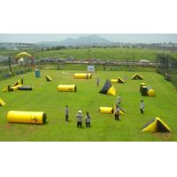 Buy cheap Fire Resistant Inflatable Sports Games , PVC Inflatable Paintball Arena for War Game from wholesalers