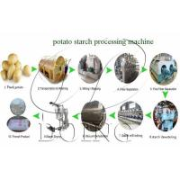 Buy cheap potato starch processing machine from wholesalers