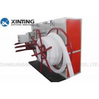 Buy cheap Pe Pvc Corrugated Pipe Production Line , Siemens Motor Sprial Pipe Making Machine from wholesalers