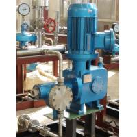 Buy cheap 100bar Electronic Hydraulic Diaphragm Metering Pump With 500LPH from wholesalers