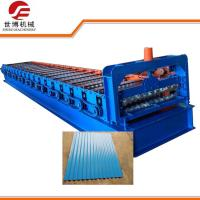 Buy cheap 5.5kw Corrugated Sheet Roll Forming Machine Water Waves Type Galvanized Iron Corrugated Roofing Tile Making Equipment from wholesalers