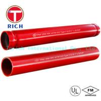 Buy cheap Hot Dipped Welding Steel Tubing ASTM A795 / Welded Fire Protection Pipes Zinc - Coated from wholesalers
