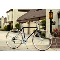 Buy cheap V brake colorful hi-ten steel  26/28 size elegant retro city bike with basket made in China from wholesalers