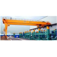 Buy cheap single girder semi-gantry crane with hoist price from wholesalers