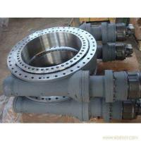 Buy cheap Helical gear enclosed housing SE7 slewing drive with hydraulic slewing drive 50Mn from wholesalers